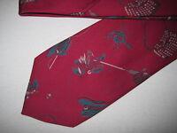 55 x 3.5 Red Teal Tie Necktie GAP ~ (1513)