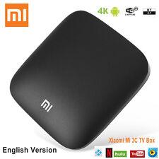 XIAOMI Mi 3 3C TV Box 4K Android 5.0 English Quad Core 1G+4G KODI Media OTT