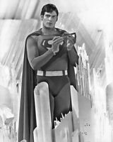 Movie SUPERMAN II Christopher Reeve Glossy 8x10 Photo Poster Print Clark Kent