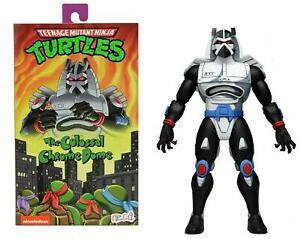 "NECA Teenage Mutant Ninja Turtles Cartoon Chrome Dome Ultimate 7"" UK New"