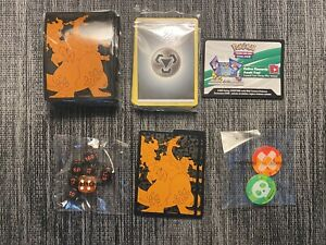 Pokemon Champion's Path Card Sleeves Dice, Markers + Dividers + Code Card for TB