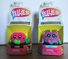 Yellies! Sammie & Toofy Spooder Voice-Activated Spider Pet New Hasbro 2018