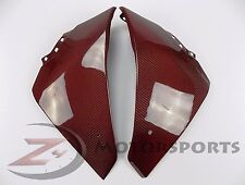 2009-2014 Yamaha R1 Lower Bottom Belly Pan Panel Fairing Cowl Carbon Fiber Red