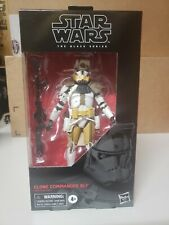 """Star Wars Black Series 6"""" Clone Commander Bly New Sealed In Hand Clone Wars"""