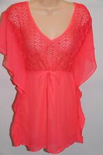 NWT Miken Swim Swimsuit Cover Up Dress Tunic Size S Ginger