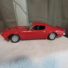 1973 PONTIAC FIREBIRD TRANS AM,ERTL,1:18 SCALE DIECAST,RED