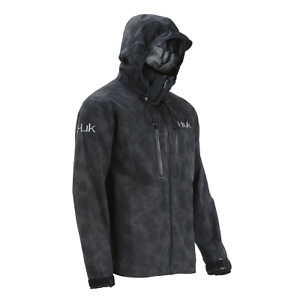 40% Off HUK Leviathan Fishing Jacket Black Pick Size-Free Ship