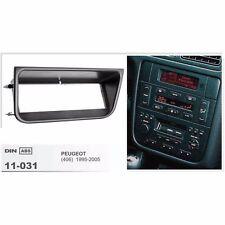 Din Fascia Stereo For PEUGEOT 406 1995-2005 Dash Mount Trim Kit Panel Frame