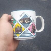 Vintage 80's knoebels all over print mug