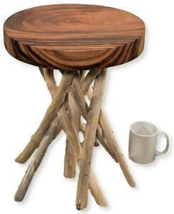 TEAKWOOD BRANCH STOOL, Bali Teak Wood TABLE, Bali Teak Root Stool, Teak TABLE