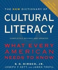 The New Dictionary of Cultural Literacy: What Every American Needs to Know by E