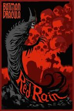 BATMAN RED RAIN Limited edition print MONDO DC COMICS 24x36 FRANCAVILLA
