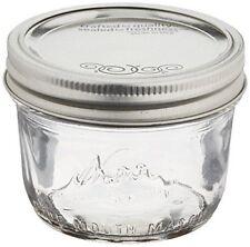 12 X 240ml Kerr Ball Mason Half Pint Jars Canning Preserving Jam Honey BPA