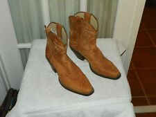Durango Crush RD3404 Ankle Boots Western Brown Women's size 8 M