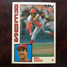 1984 Topps TIFFANY Set BEN HAYES #448 CINCINNATI REDS ** MINT ** HIGH GRADE **