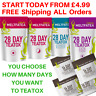 DETOX TEATOX SKINNY HERBAL WEIGHT LOSS BURN FAT TEA BURNER You Choose