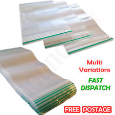 CLEAR PLASTIC BAGGY small Zipper Bags size / quantity selection Zip Lock BAGGIES