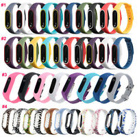 For Xiaomi Mi Band 2 Watch Replacement Silicone Wrist Strap Wristband Bracelet