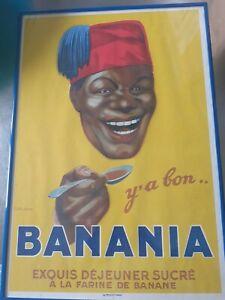 Affiche Banania Originale