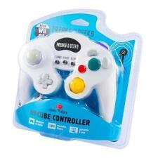 Placas frontales y etiquetas blancas para consolas y videojuegos