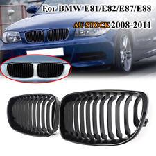 Gloss Black Kidney Front Grille Grill For BMW 1 Series E81 E87 E82 E88 2008-2013