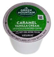 Green Mountain Caramel Vanilla Cream Coffee 100% Arabica, Keurig K-Cup Pods