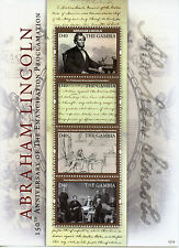 Gambian Historical Figures Famous People Postal Stamps