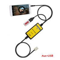 For Toyota Corolla RAV4 Lexus Scions 6+6 Car Radio MP3 Player USB AUX IN Adaptor