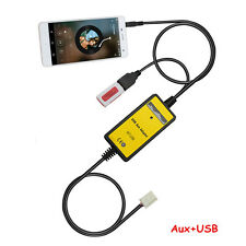 Car Radio MP3 Player USB AUX IN Adapter For Camry Corolla Highlander Lexus 6+6