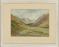 Ashby Tarr - Early 20th Century Watercolour, Carding Mill Valley
