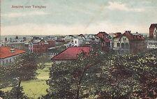 K 464 - Kiautschou Panorama Ansicht von Tsingtau , 1913 gelaufen, Marke fehlt