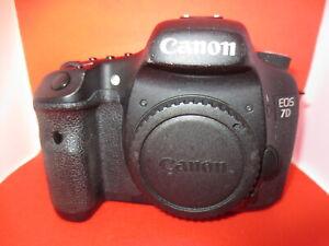 Genuine Canon 7D Digital Camera  body +32GB