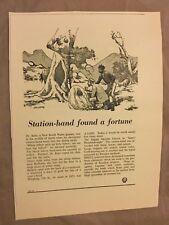 Shell Advertisement - Jolliffe Cartoon - Australia  - 1956