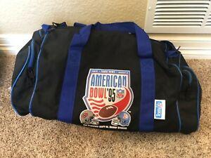 Vintage 1995 Denver Broncos 49ers American Bowl Tokyo Dome Duffle Bag