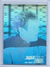RARE 1997 SKYBOX STAR TREK TNG SEASON 6 ~ CHIEF MILES O'BRIEN HOLOGRAM CARD #11