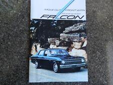 1966 XR FORD FALCON  BROCHURE (LARGE FORMAT)  100% GUARANTEE.