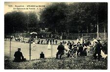 CPA 38 Isère Uriage-les-Bains un Concours de Tennis animé