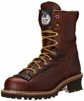 Georgia Boot Men's Loggers G7313 Work Boot, Brown, Size 11.0 JV8y