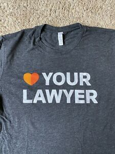 Bella Canvas Tshirt L Love Your Lawyer Findlaw No Flaws