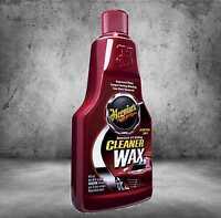 Meguiars Cleaner Wax A1216 Lack Reinigungs und Schutz Wachs 473ml