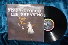 """Peggy Lee/George Shearing - """"Beauty and the Beat""""  LP"""
