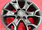 TOYOTA HILUX FORTUNER ALLOY WHEELS JULY 15 SET OF 4 GENUINE ACCESSORY BLACK