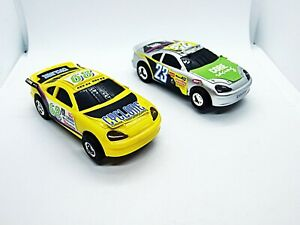 Artin Two 1/43 Slot Cars Core Racing and Cyclone