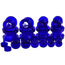 1 Pair Acrylic Ear Plugs Tunnels Srew Fit Ear Expander Gauges Piercings 2-24mm