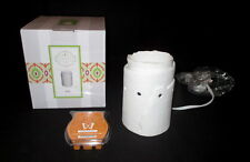 Scentsy Edge Wax Candle Warmer Retired & Southern Sweet Tea Bar NEW