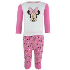 Disney Minnie Maus - Baby Shirt und Hose Set - Langarmshirt - Pink - Gr. 62-92