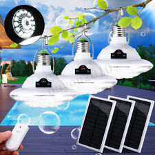 22LED Outdoor Indoor Solar Lamp Hooking Camp Garden Path Lighting Remote