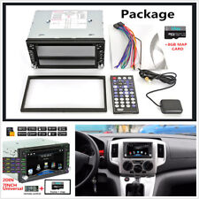 2Din Touch Screen Car FM Bluetooth Auto Radio iPod DVD CD Player GPS Navigation