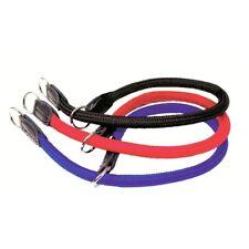Collar para perros nailon redondo rojo educativo XL cuello ajustable hasta 80 cm