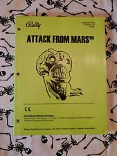 Pinball Machine Manual - ATTACK FROM MARS - Williams Bally Midway